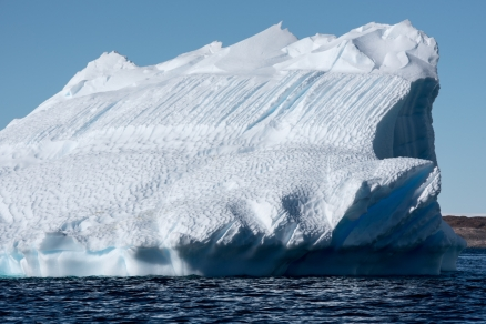 Iceberg on the way out to Gardiner Island