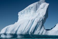 Iceberg just off Gardiner Island