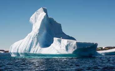 Iceberg off Gardiner Island