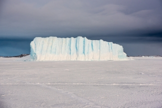 Ice berg near Gardiner Island