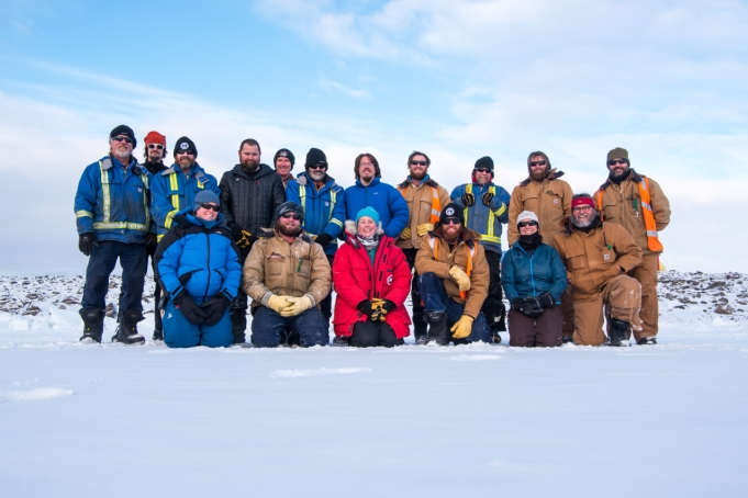 Group photo of the Winter Crew